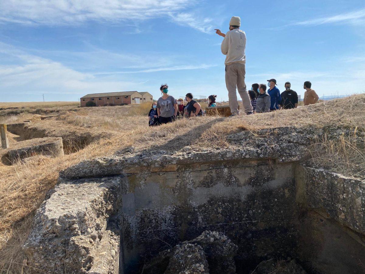 El interés por la Línea del Cinca lleva a ayuntamientos de Cinca Medio y Somontano a recuperar sus vestigios de la Guerra Civil