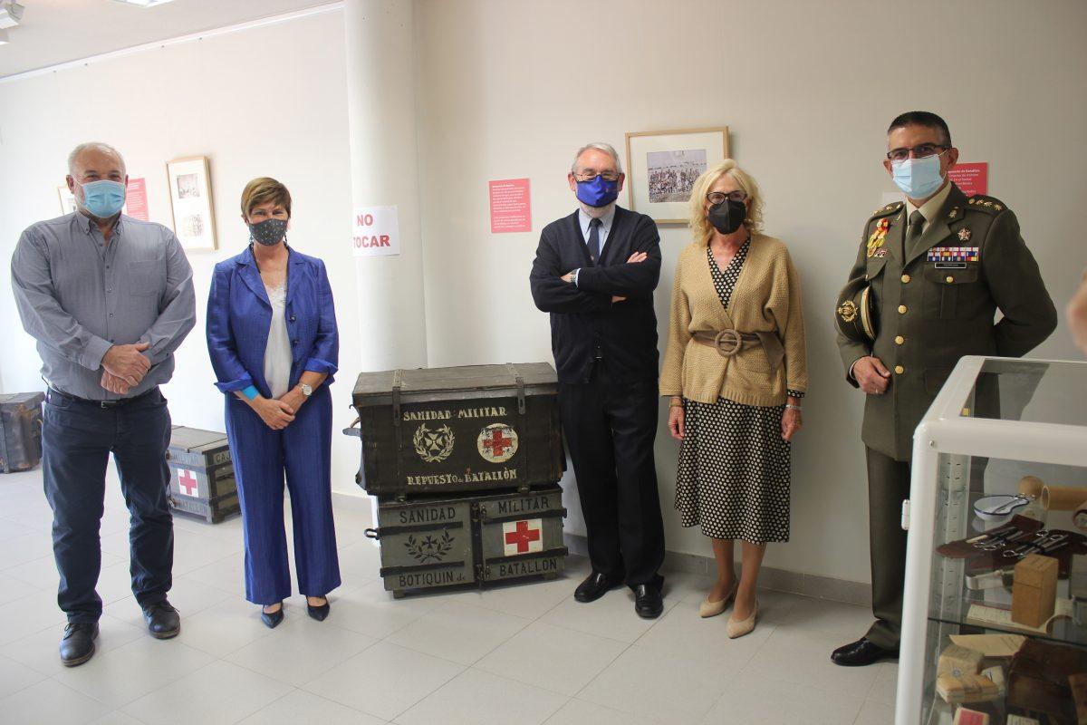 Inaugurada la nueva sala dedicada a material sanitario en el Centro de Interpretación de la Guerra Civil en Aragón ubicado en Robres